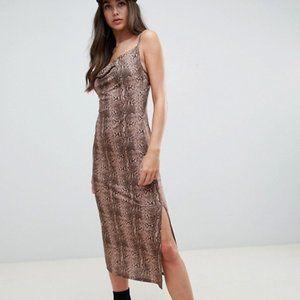 ASOS Snake Skin Maxi Dress,